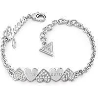 bracelet femme bijoux Guess Heart Bouquet UBB85101-S