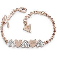 bracelet femme bijoux Guess Heart Bouquet UBB85102-S