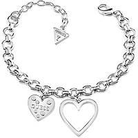 bracelet femme bijoux Guess Heart In Heart UBB84035-S