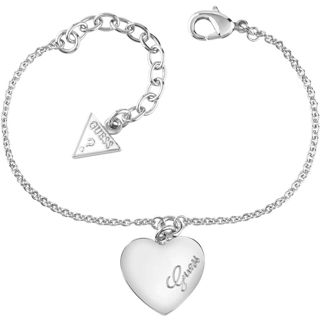 bracelet femme bijoux Guess Heartbeat UBB61043-S