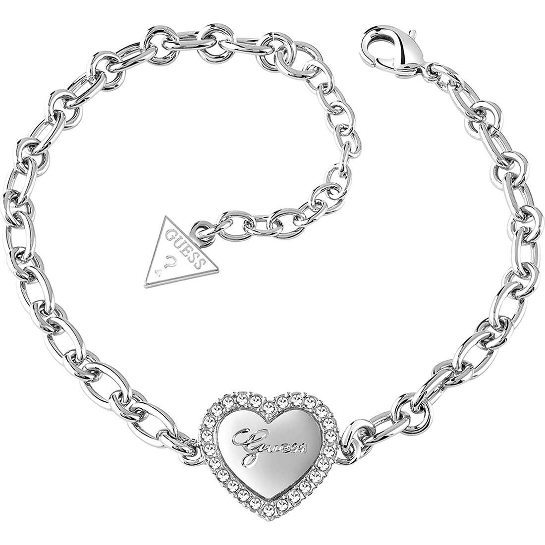 bracelet femme bijoux Guess Iconic UBB21516-S