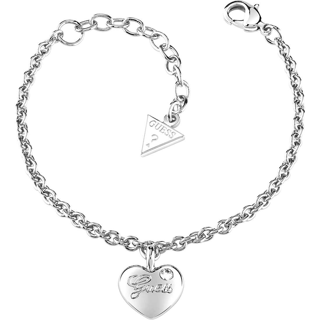 bracelet femme bijoux Guess Iconic UBB21527-S