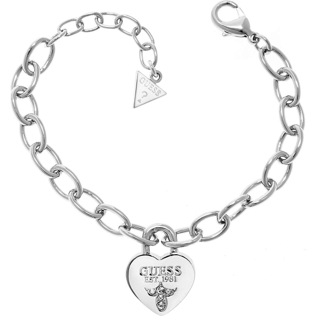 bracelet femme bijoux Guess Iconic UBB21567-S