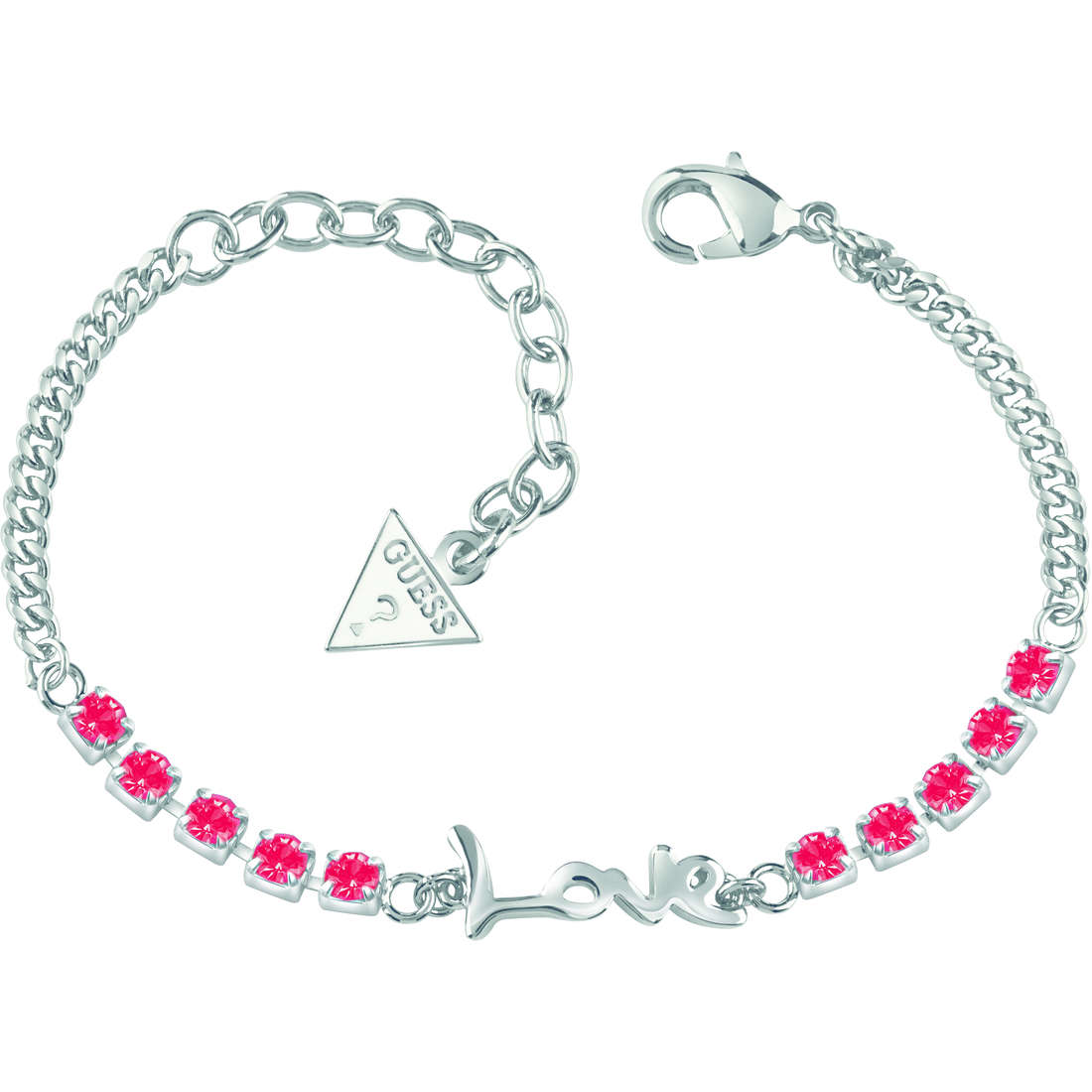 bracelet femme bijoux Guess My Feelings 4U UBB61079-S