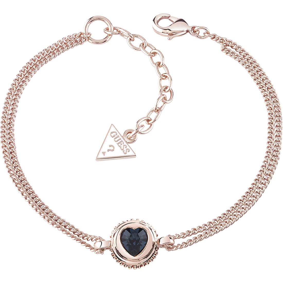 bracelet femme bijoux Guess Rose Gold UBB21533-S