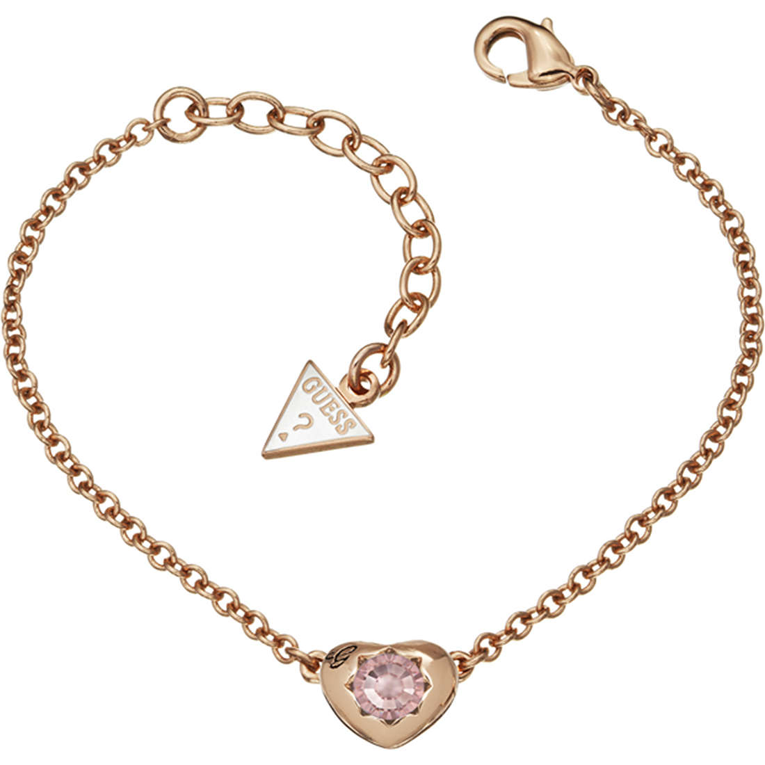 bracelet femme bijoux Guess Rose Gold UBB21560