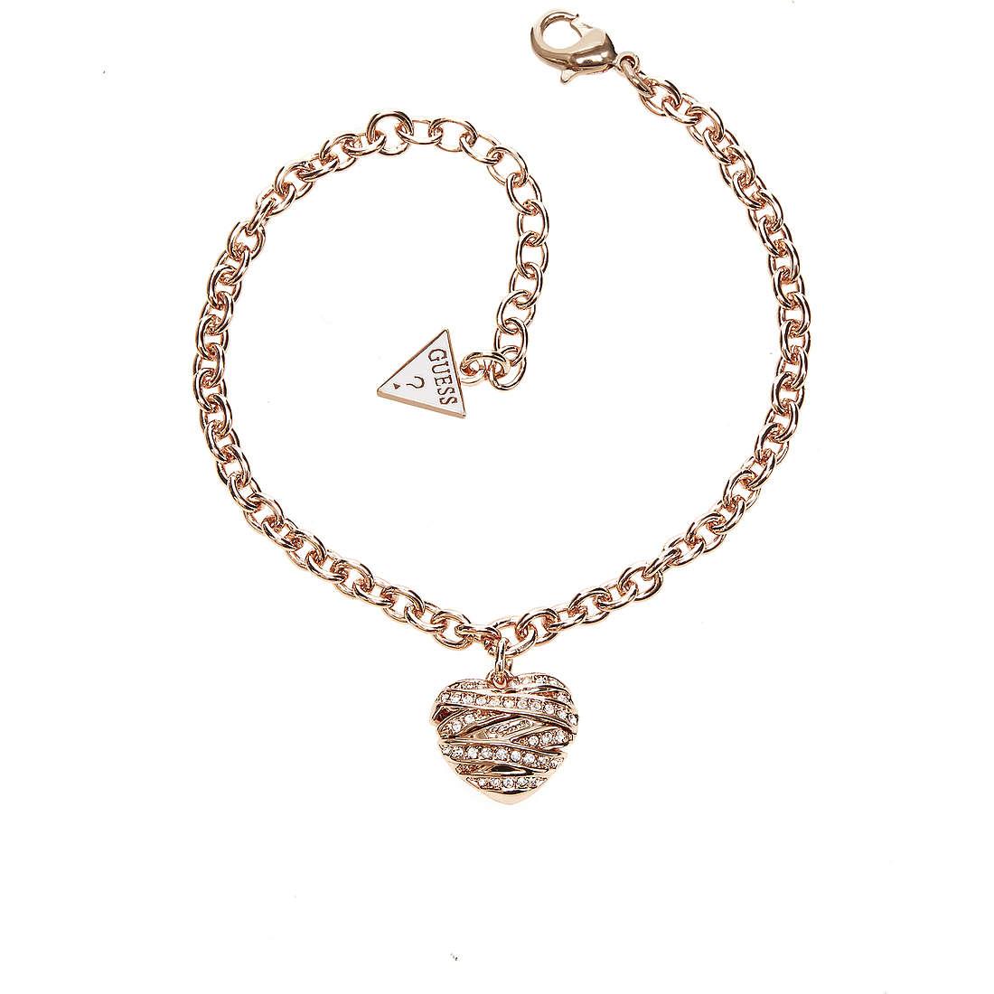 bracelet femme bijoux Guess Rose Gold UBB21596-S
