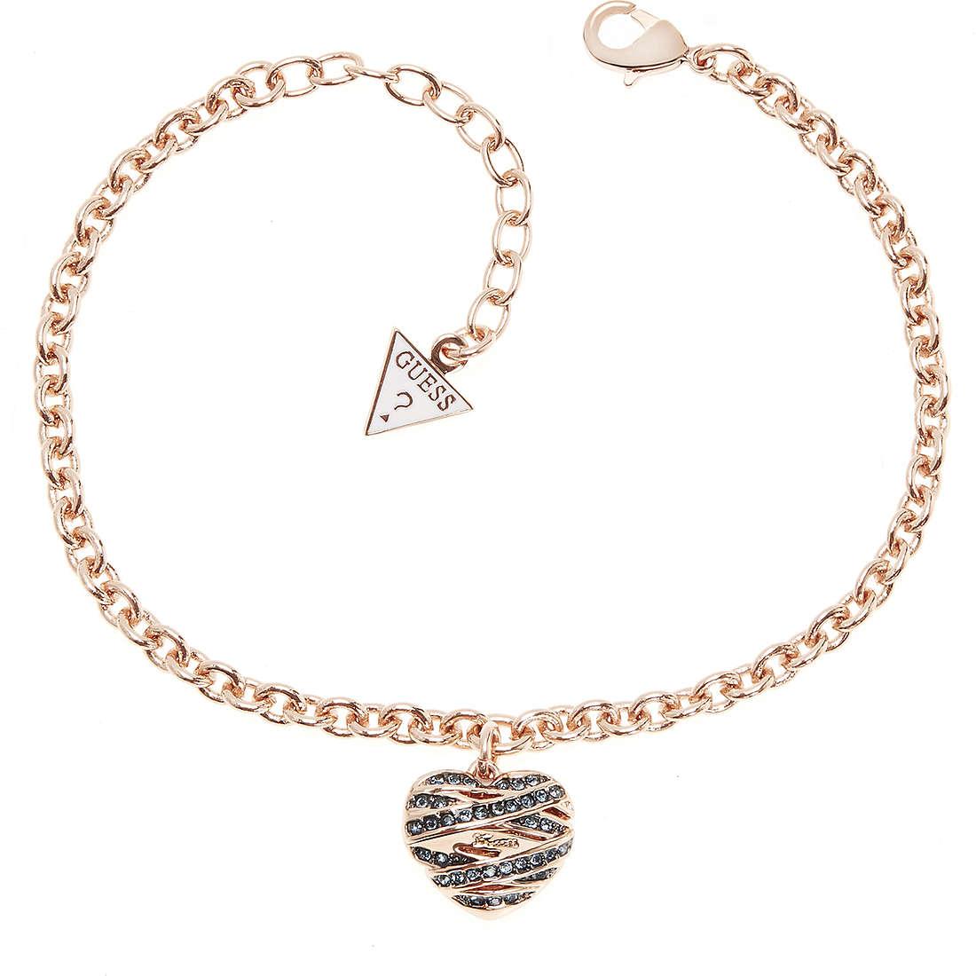 bracelet femme bijoux Guess Rose Gold UBB21597-S