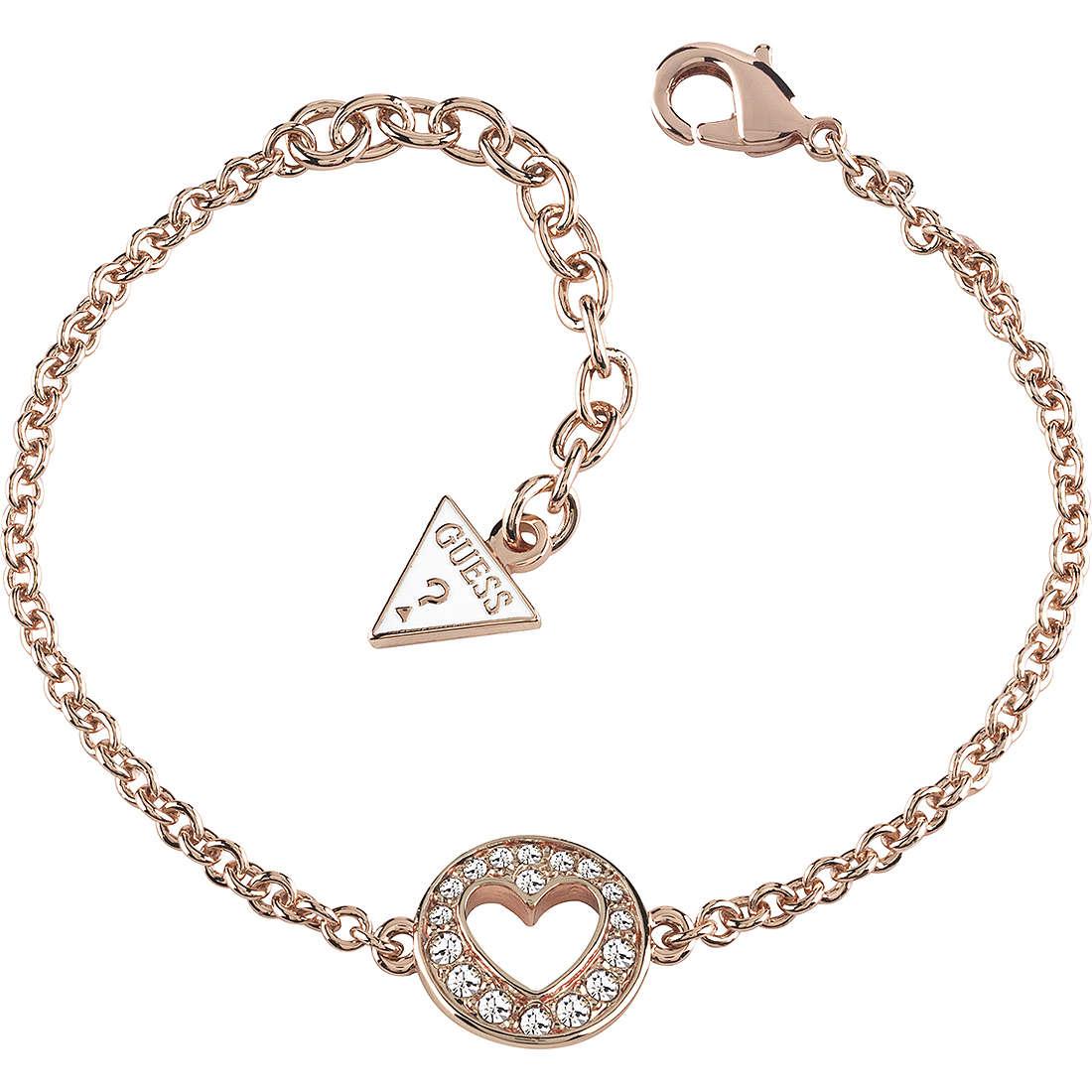 bracelet femme bijoux Guess Rose Gold UBB51497
