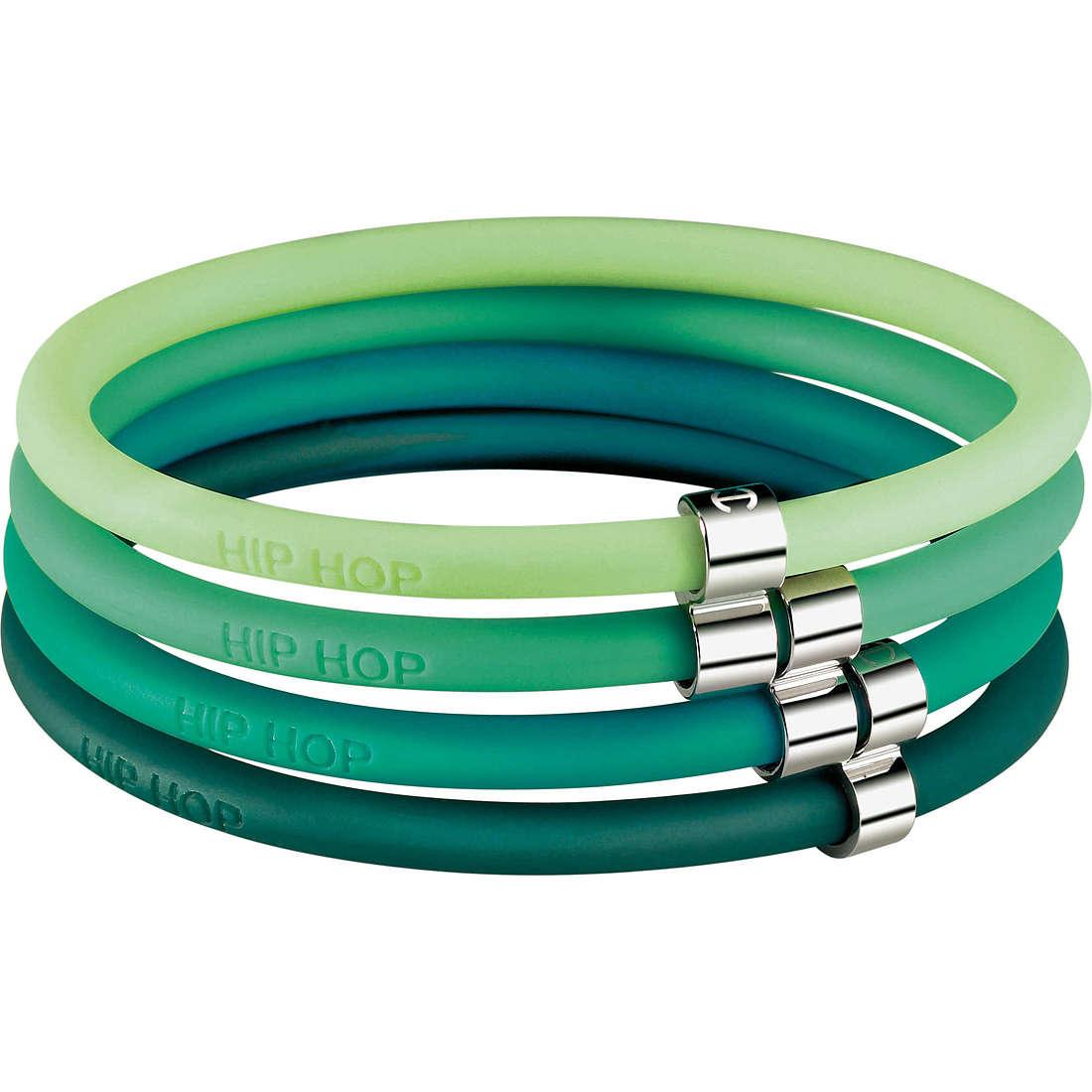 bracelet femme bijoux Hip Hop Happy Loops HJ0105