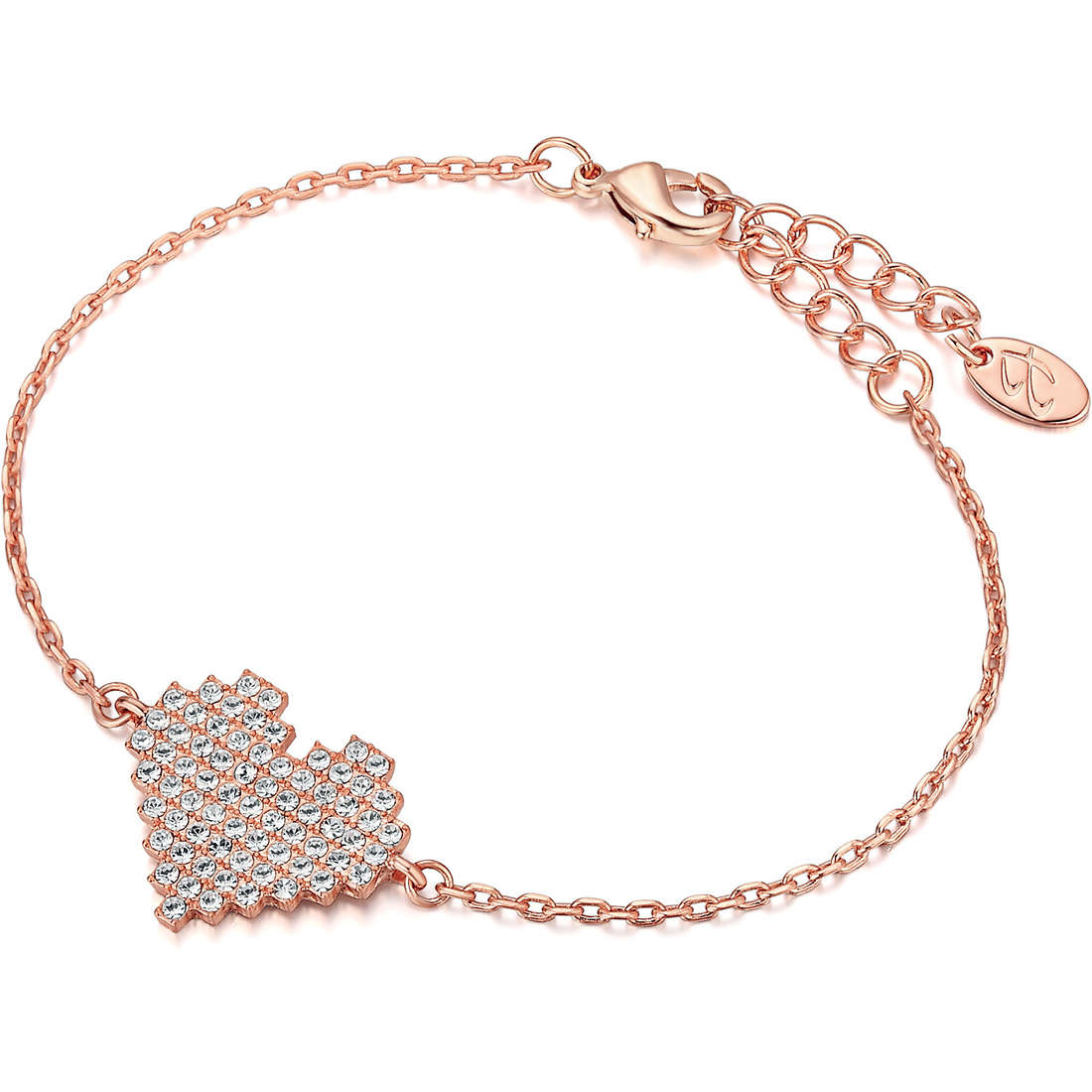 bracelet femme bijoux Luca Barra Giuly LBBK1086