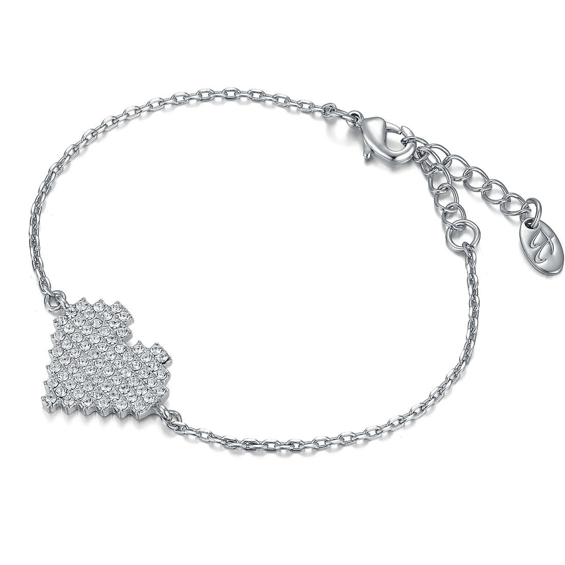bracelet femme bijoux Luca Barra Kimberley LBBK1085