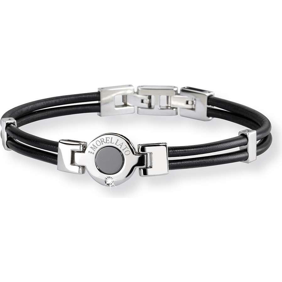 bracelet femme bijoux Morellato Noir SAA06
