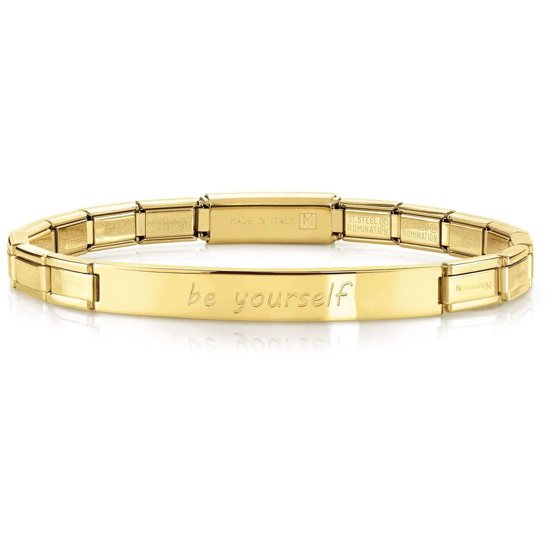 bracelet femme bijoux Nomination 021110/001