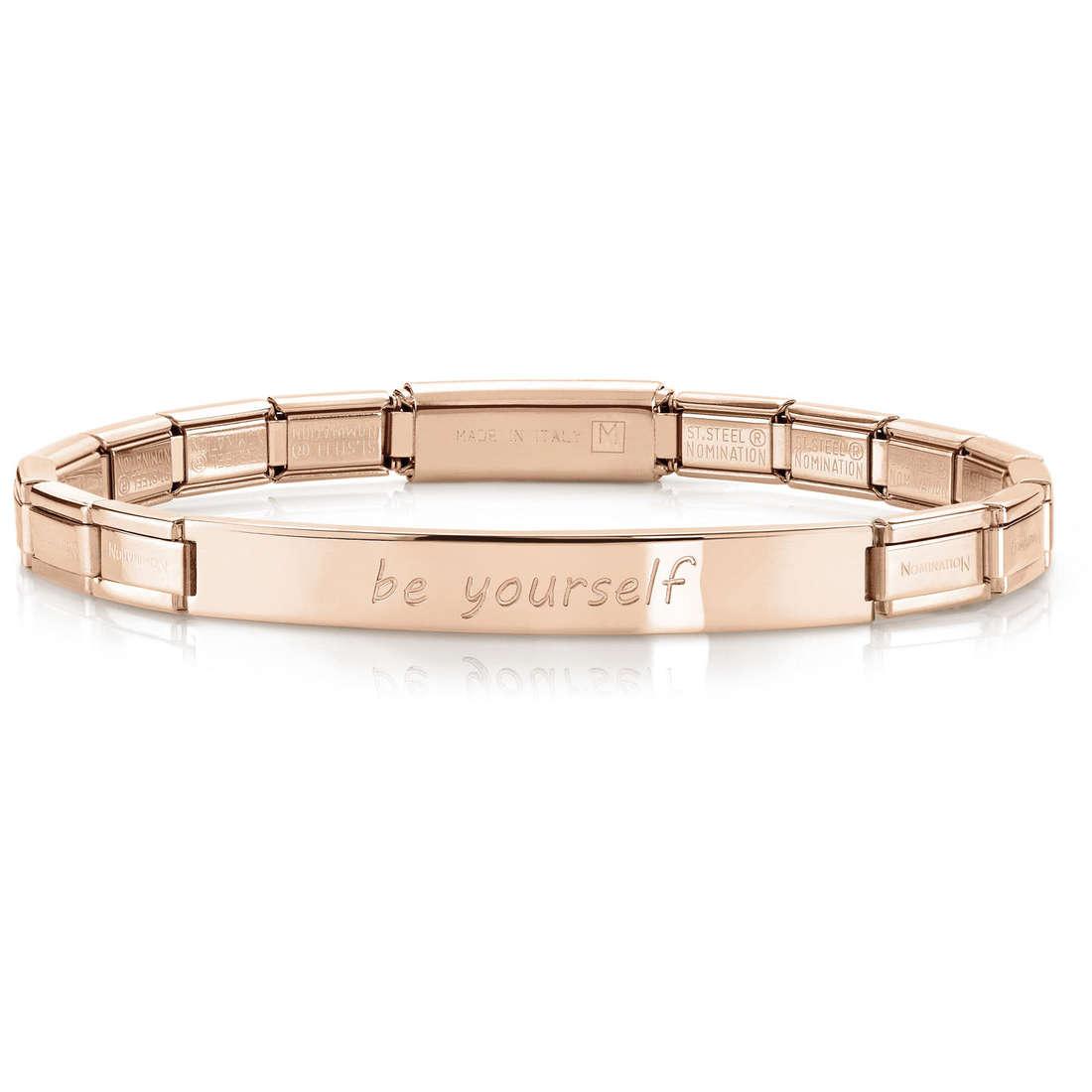 bracelet femme bijoux Nomination 021110/002