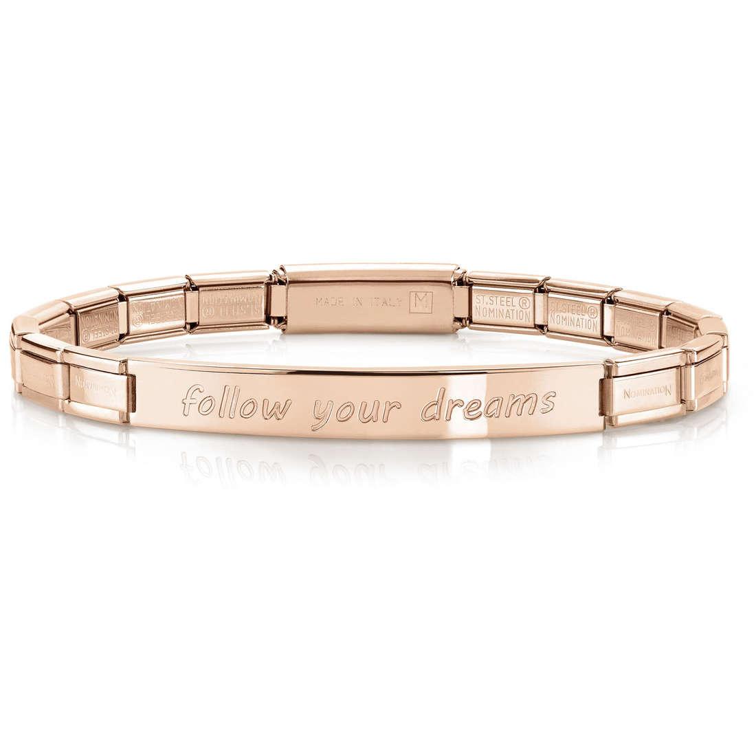 bracelet femme bijoux Nomination 021110/006