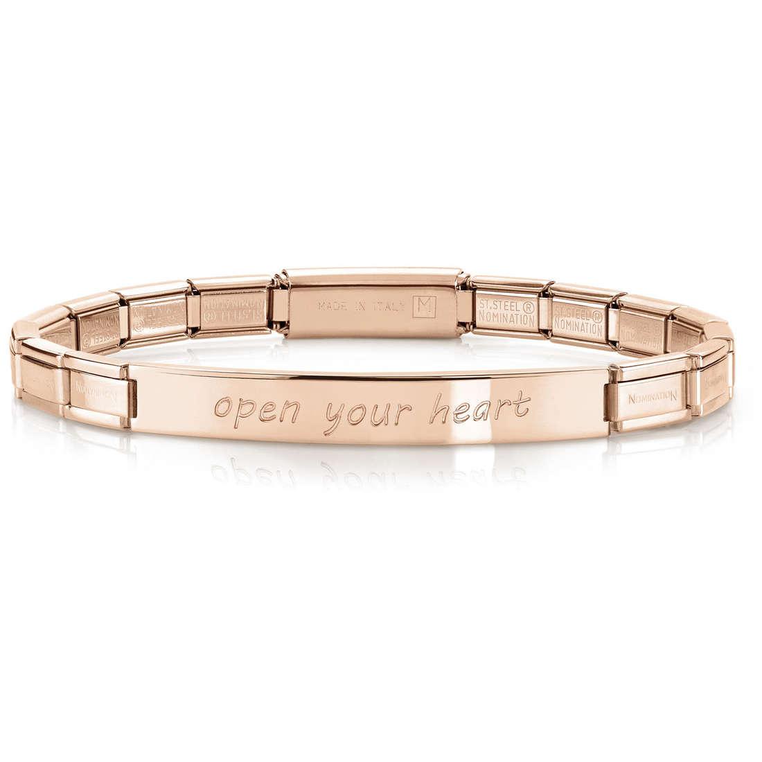 bracelet femme bijoux Nomination 021110/008