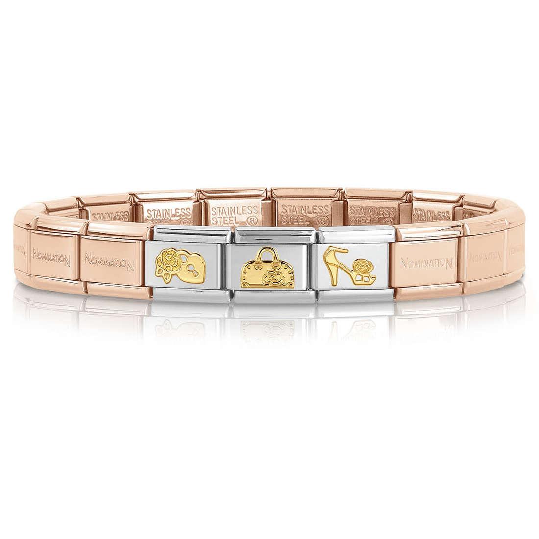 bracelet femme bijoux Nomination 039253/20