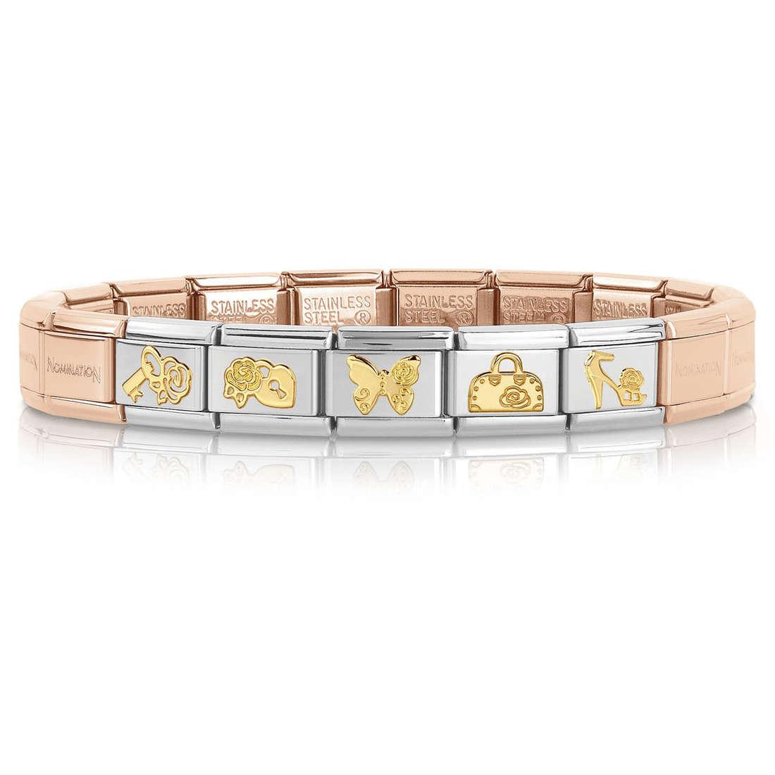 bracelet femme bijoux Nomination 039255/20