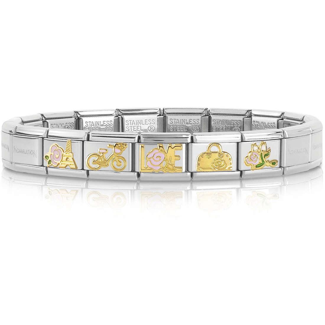 bracelet femme bijoux Nomination 039256/20