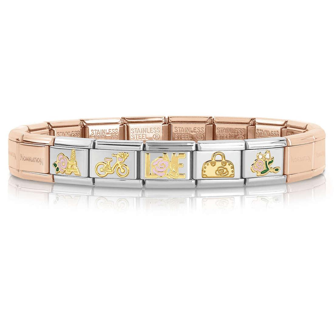 bracelet femme bijoux Nomination 039261/20