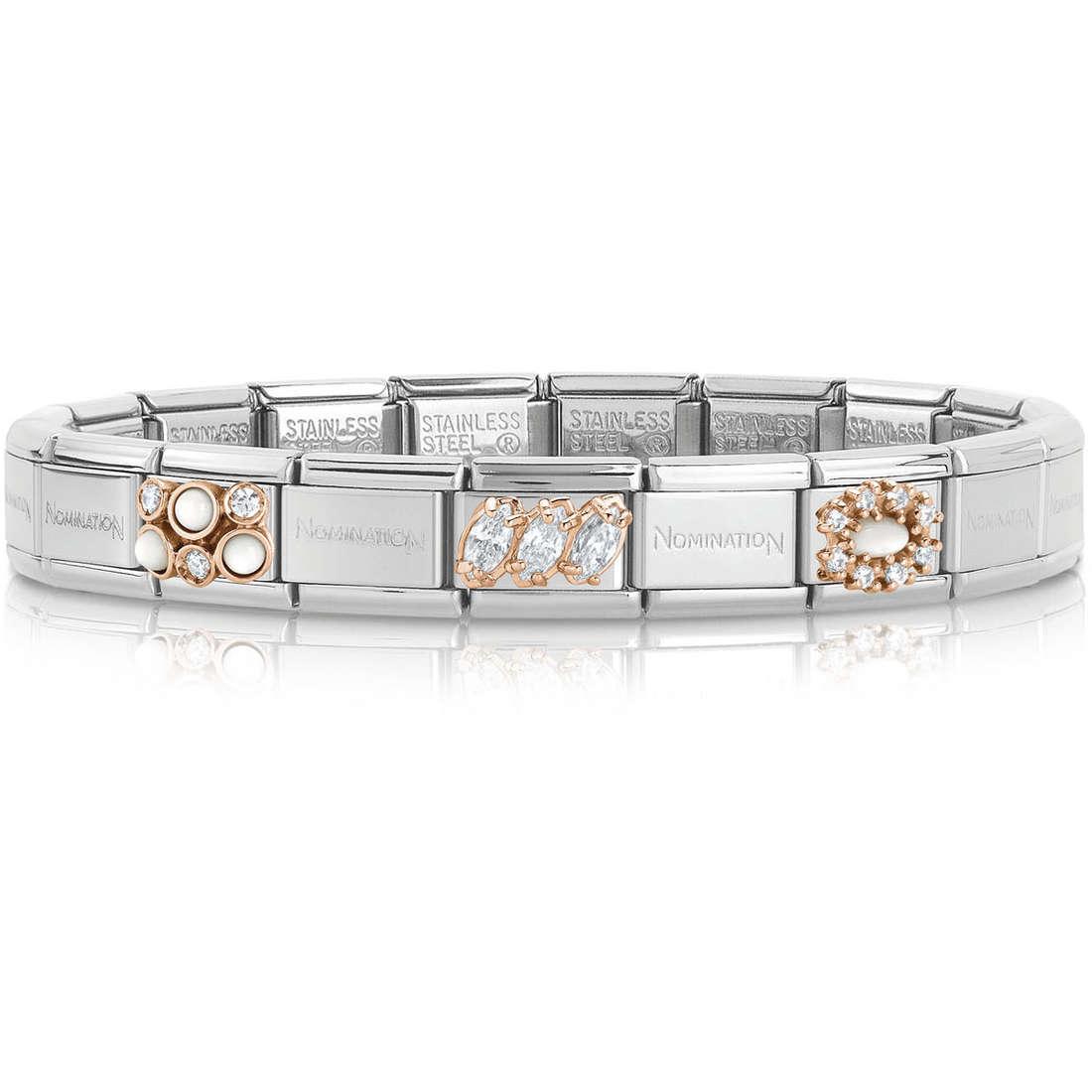 bracelet femme bijoux Nomination 439017/20