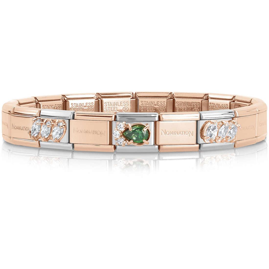 bracelet femme bijoux Nomination 439021/20