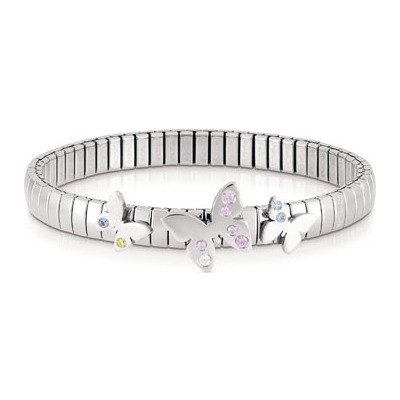 bracelet femme bijoux Nomination Butterfly 021300/005