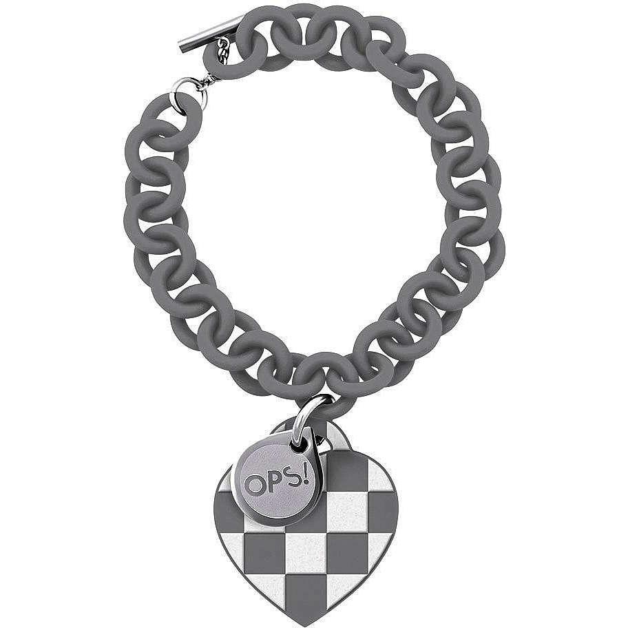 bracelet femme bijoux Ops Objects Damier OPSBR-102