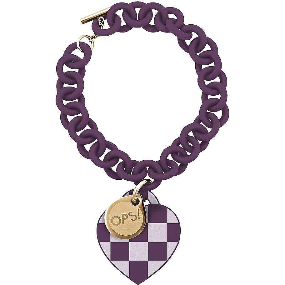 bracelet femme bijoux Ops Objects Damier OPSBR-106