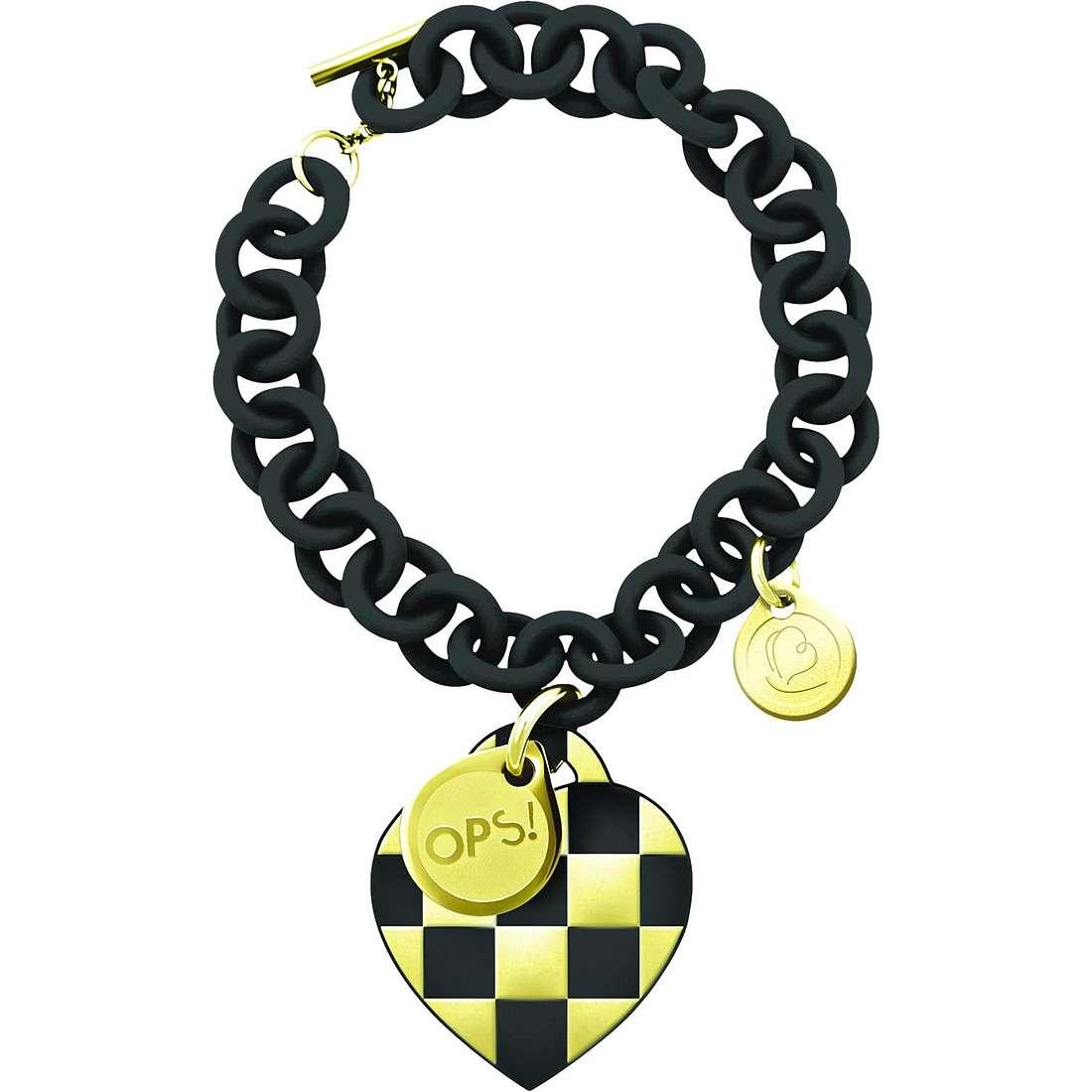 bracelet femme bijoux Ops Objects Damier OPSBR-140