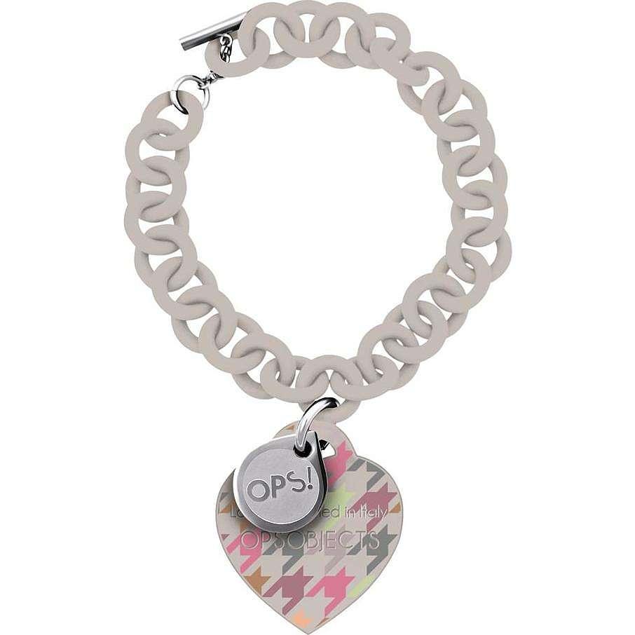 bracelet femme bijoux Ops Objects Ops! Pied De Poule OPSBR-163