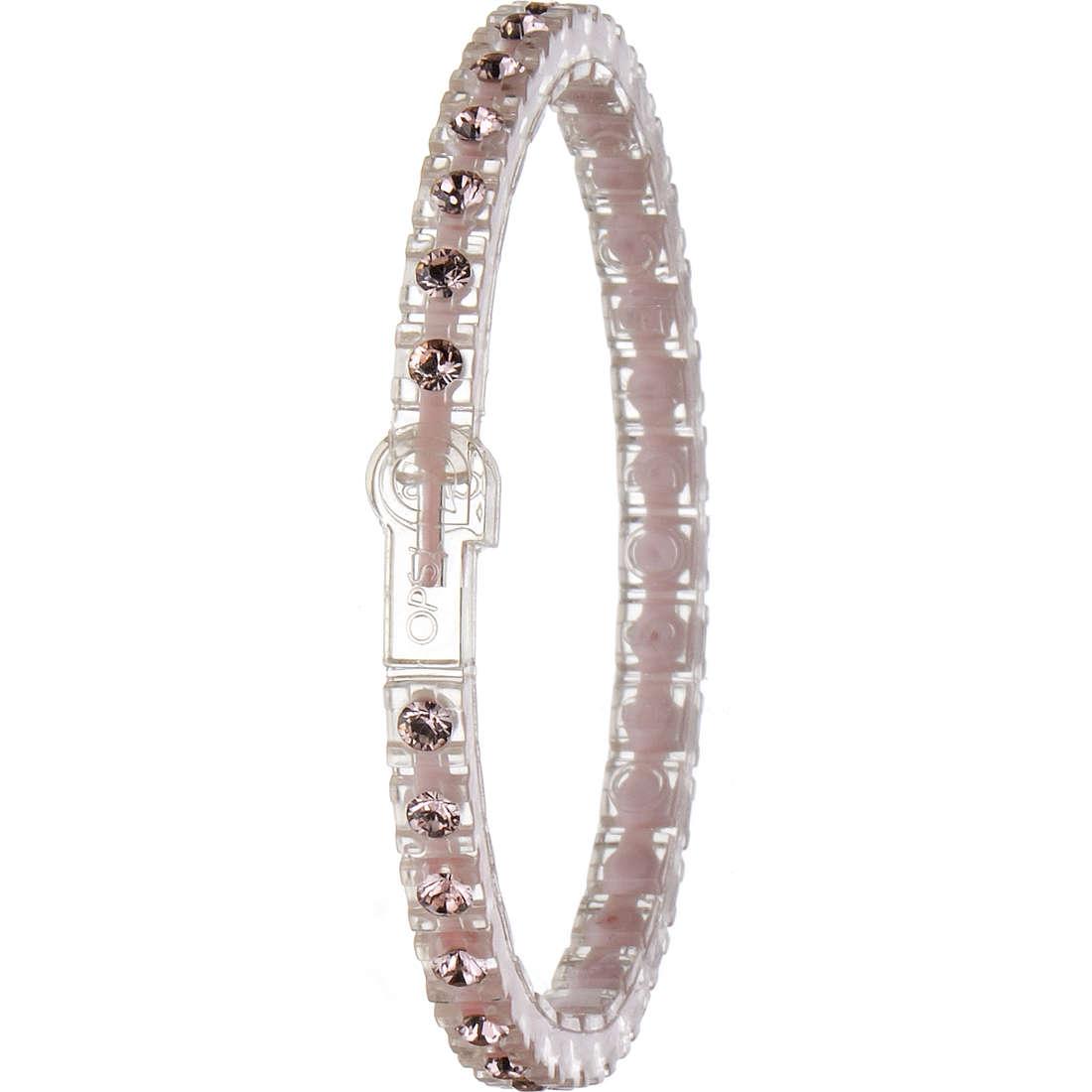 bracelet femme bijoux Ops Objects Tennis Nude OPSTEW-61