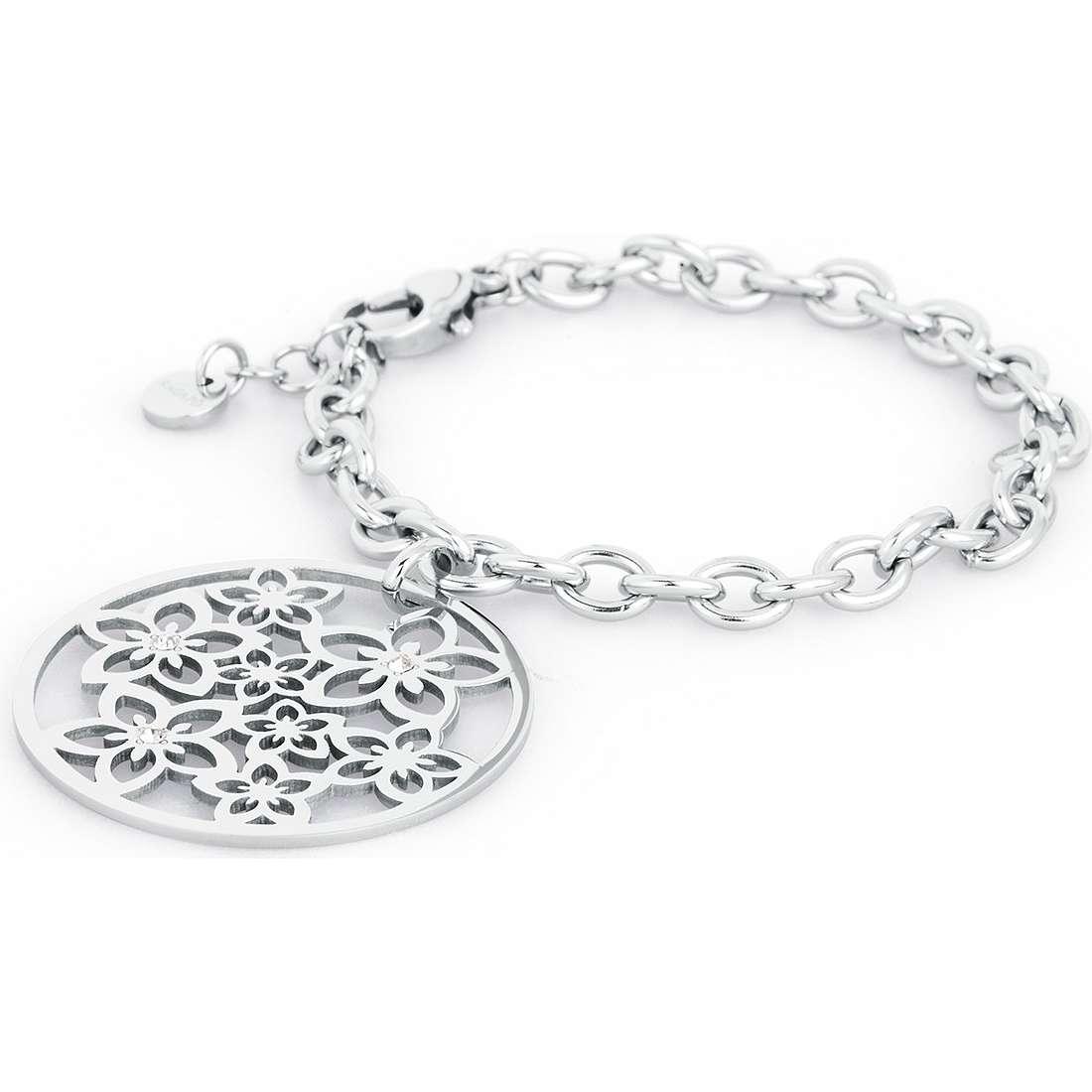 bracelet femme bijoux Sagapò Flower SFL11