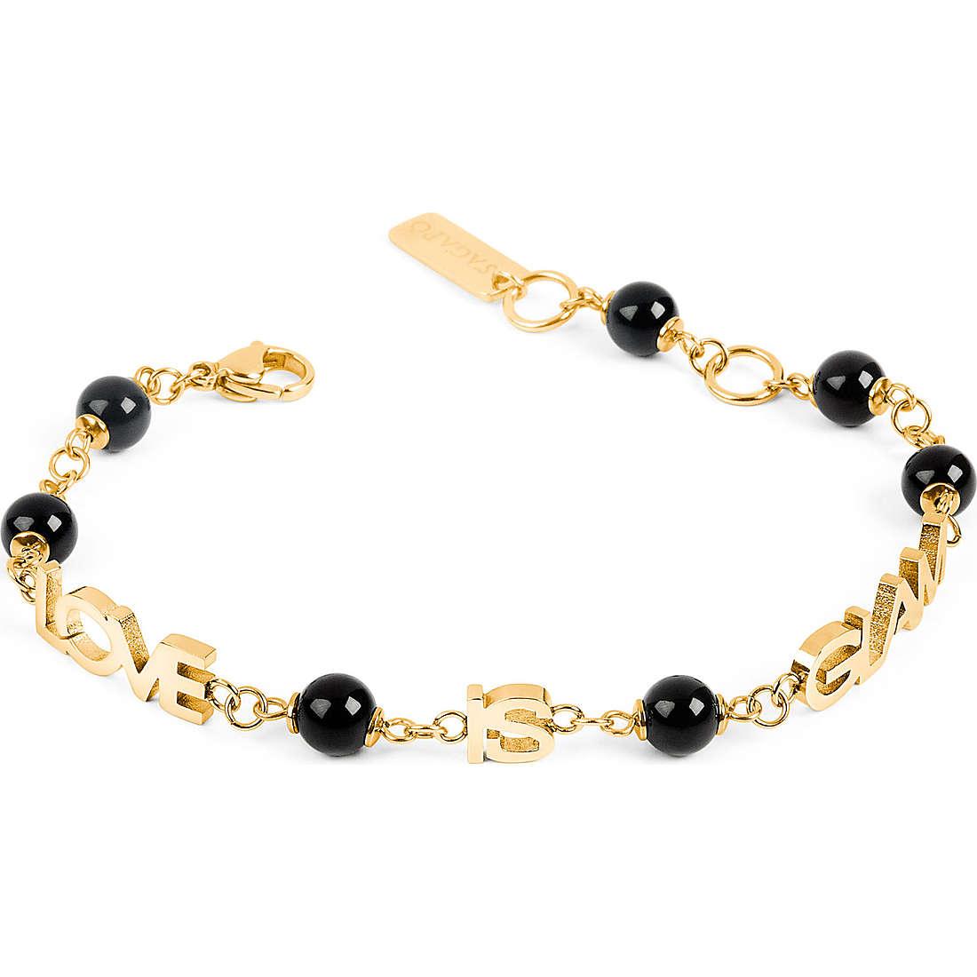 bracelet femme bijoux Sagapò Love is glam SLG01