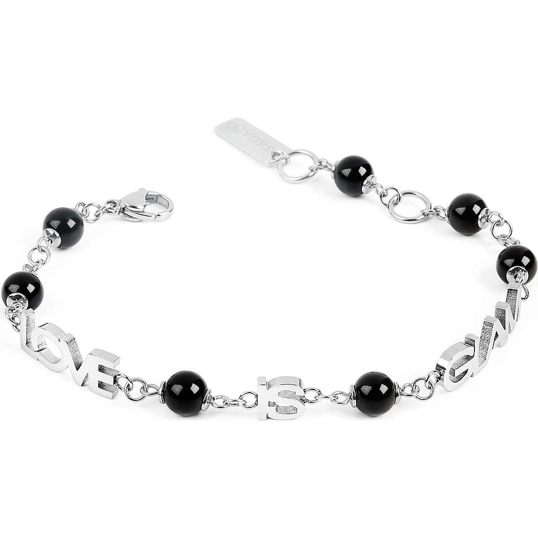 bracelet femme bijoux Sagapò Love is glam SLG07