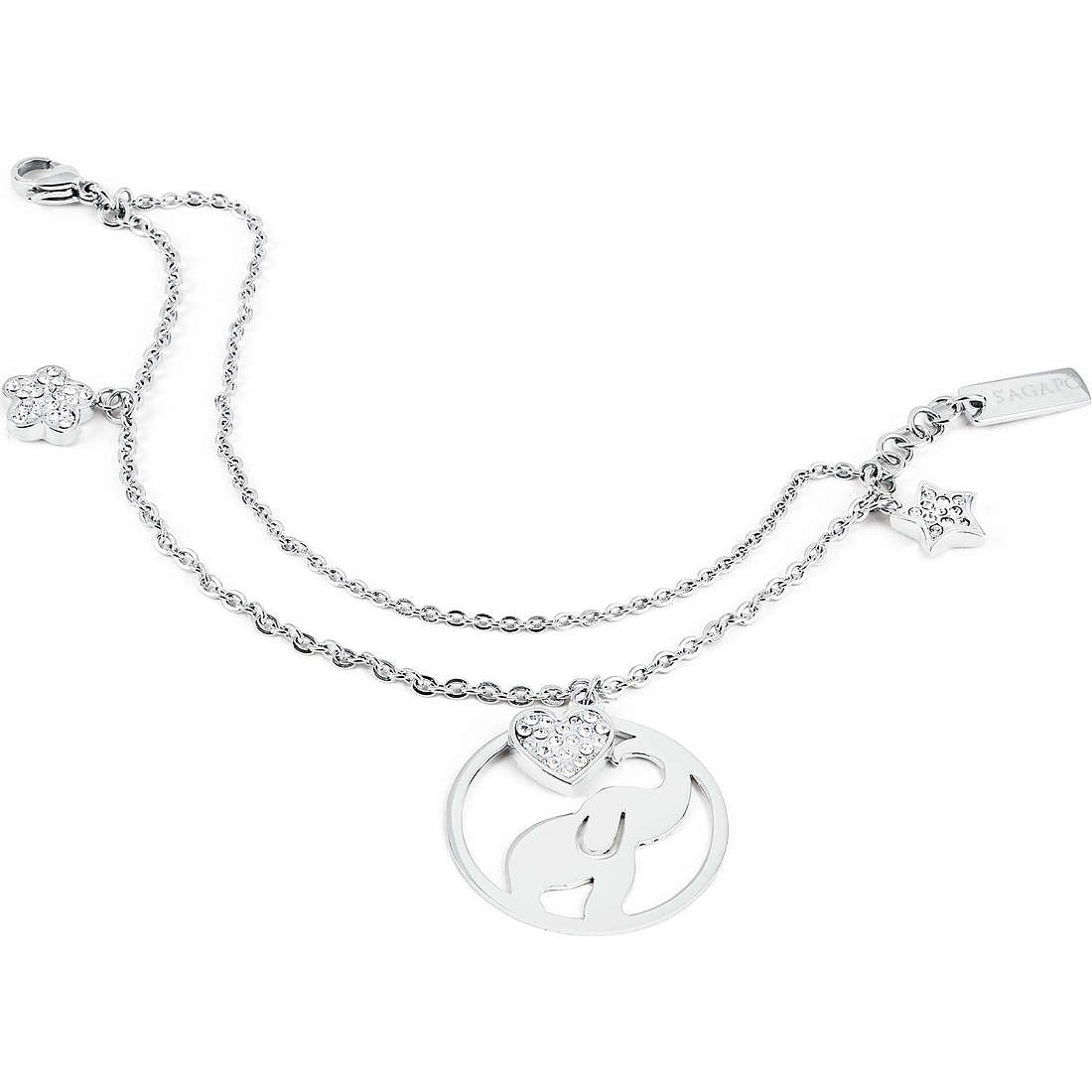 bracelet femme bijoux Sagapò Lucky Hoop SLH12