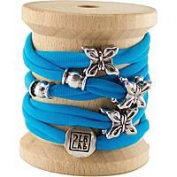 bracelet femme bijoux Too late Lycra 1007