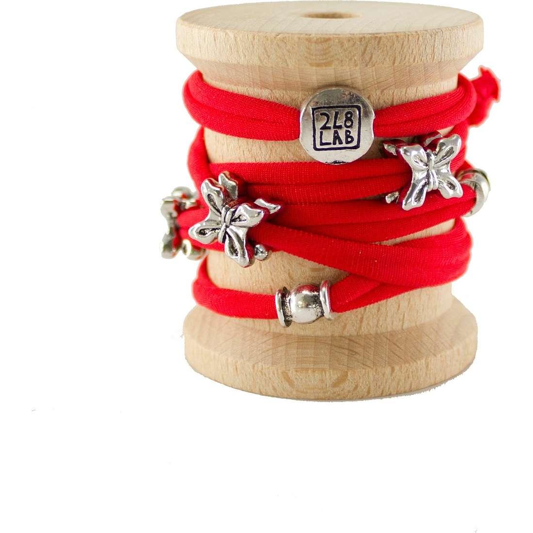 bracelet femme bijoux Too late Lycra 1008