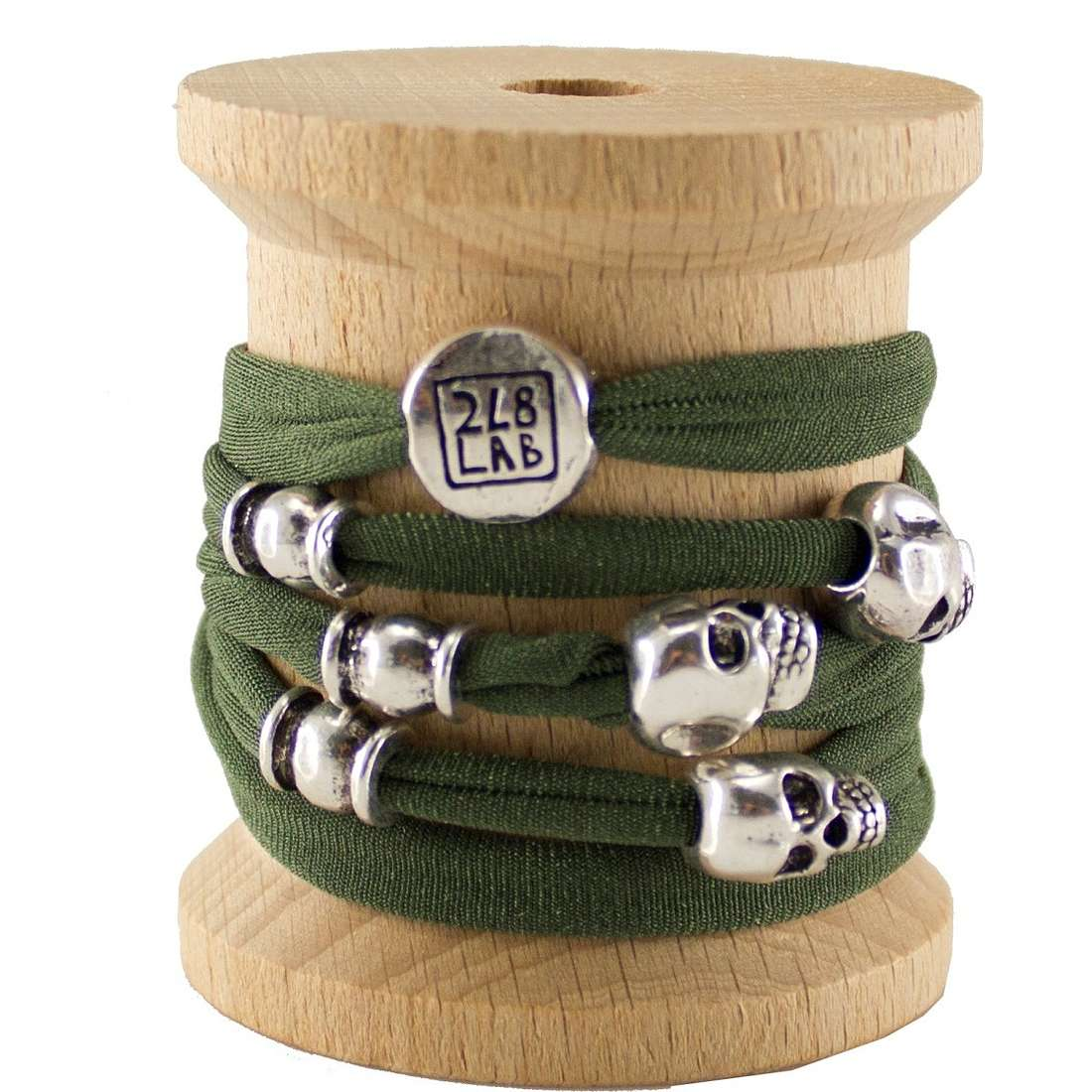 bracelet femme bijoux Too late Lycra 2011