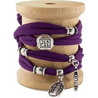 bracelet femme bijoux Too late Lycra 3009