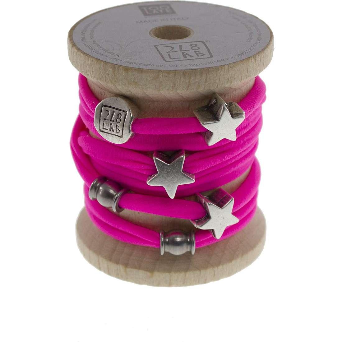 bracelet femme bijoux Too late Lycra 8438