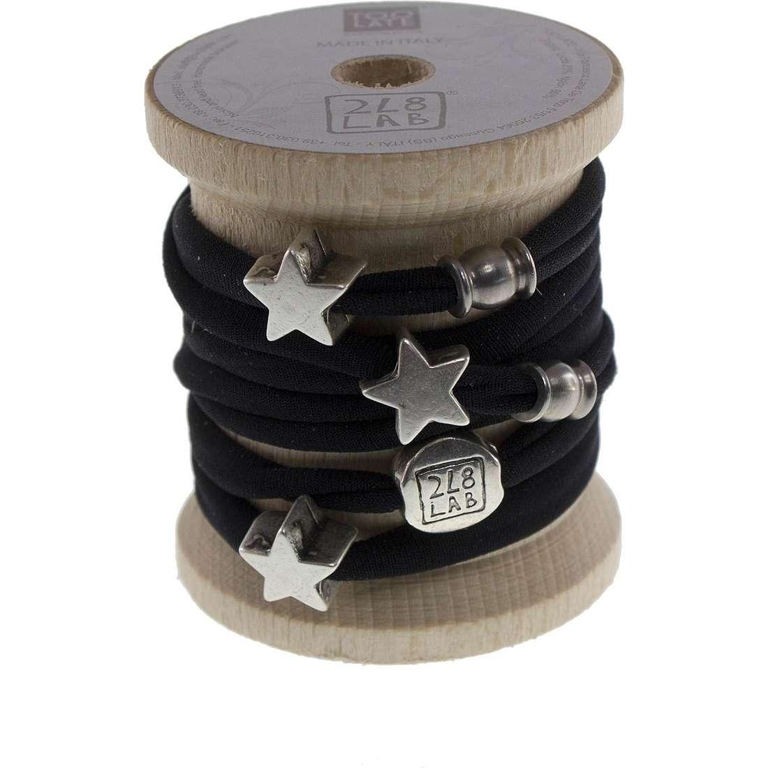 bracelet femme bijoux Too late Lycra 8452