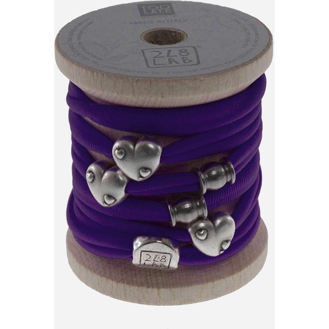 bracelet femme bijoux Too late Lycra 8629