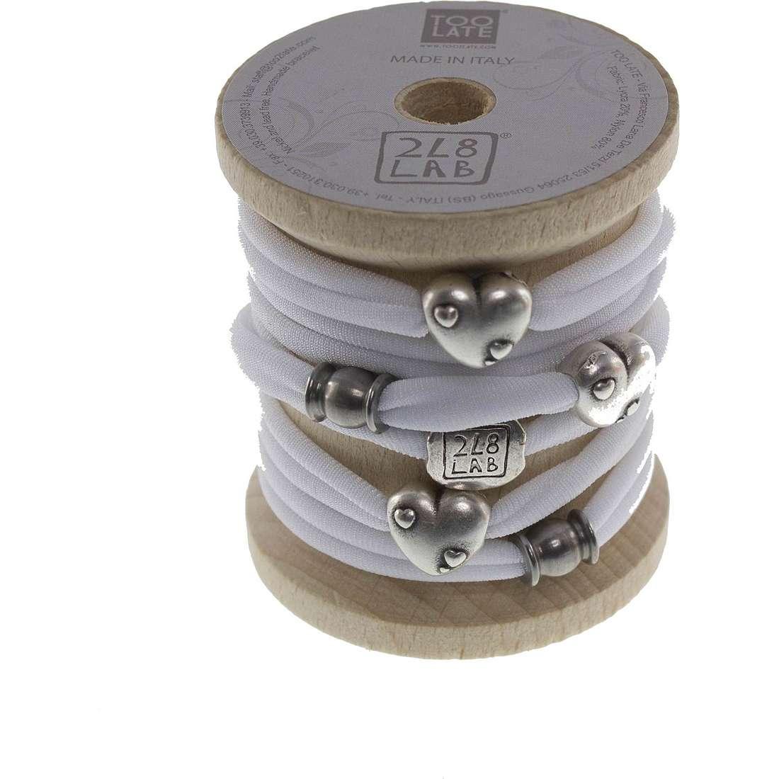 bracelet femme bijoux Too late Lycra 8636