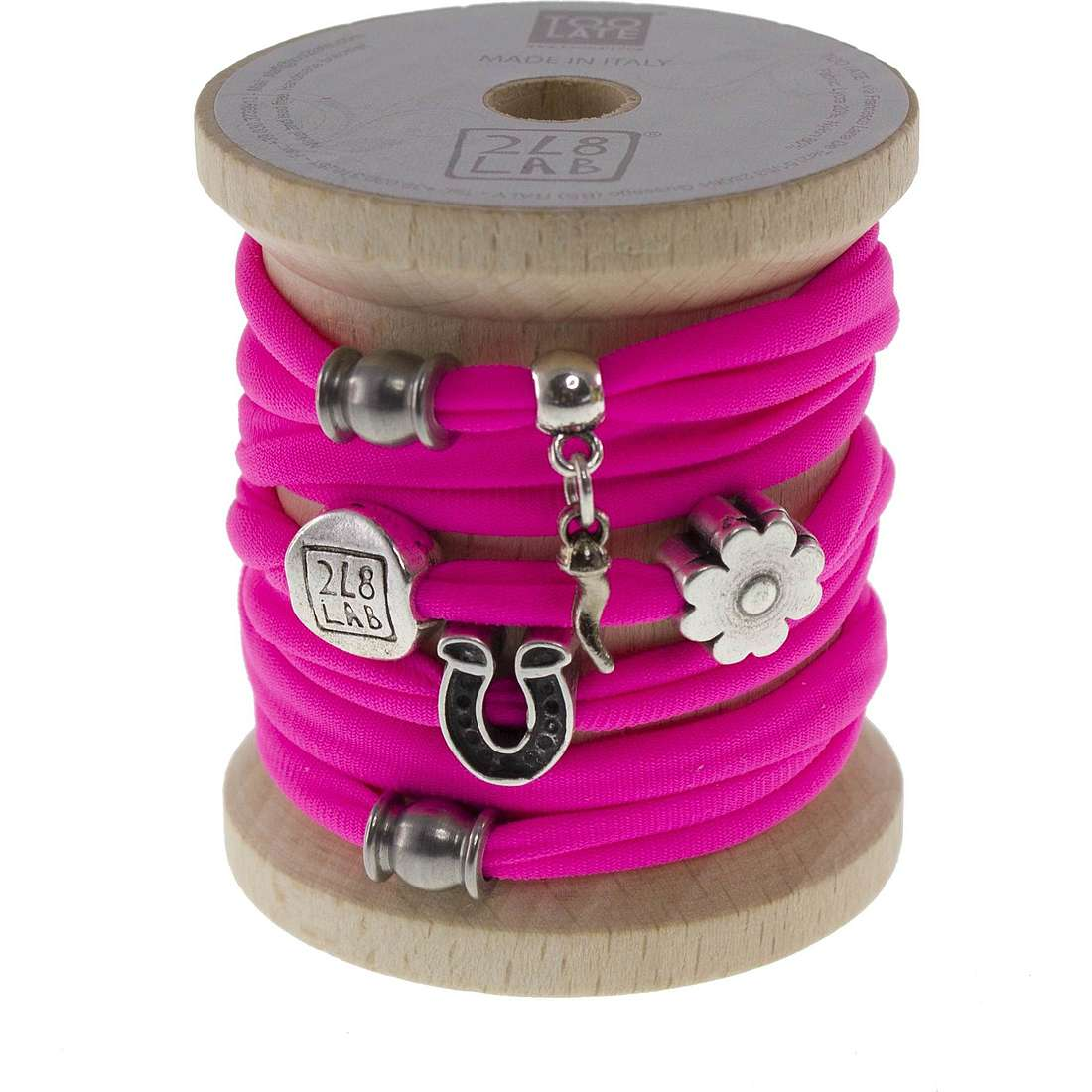 bracelet femme bijoux Too late Lycra 8674