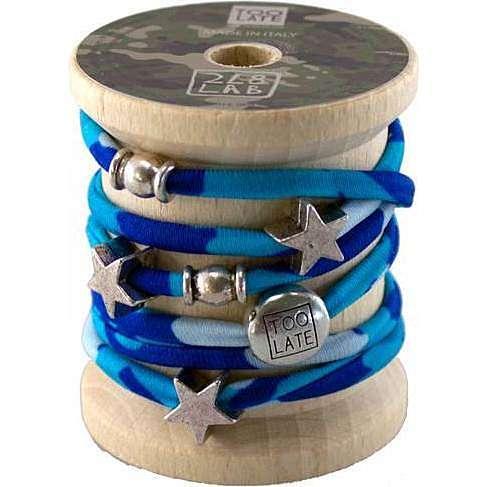 bracelet femme bijoux Too late Lycra S49718