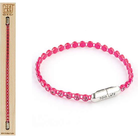 bracelet femme bijoux Too late Pingpong Colors 8052745220870