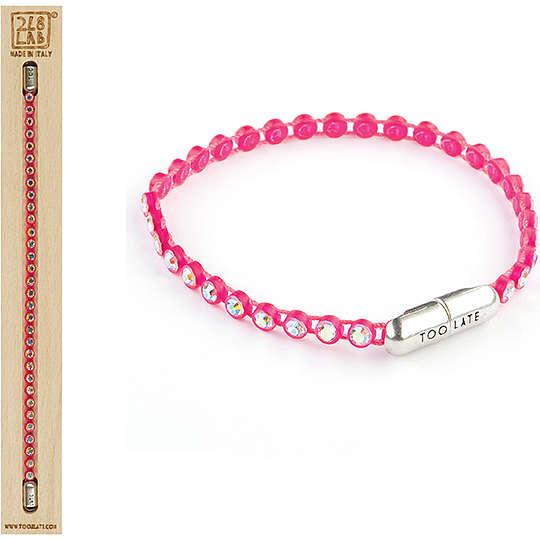 bracelet femme bijoux Too late Pingpong Colors 8052745220955