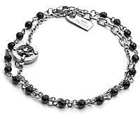 bracelet homme bijoux 4US Cesare Paciotti Black Route 4UBR2043